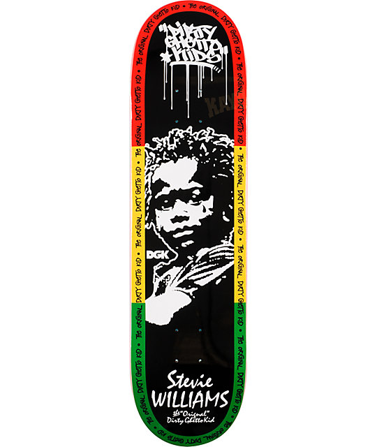"DGK Stevie Williams The Original 8.1""  Skateboard Deck"