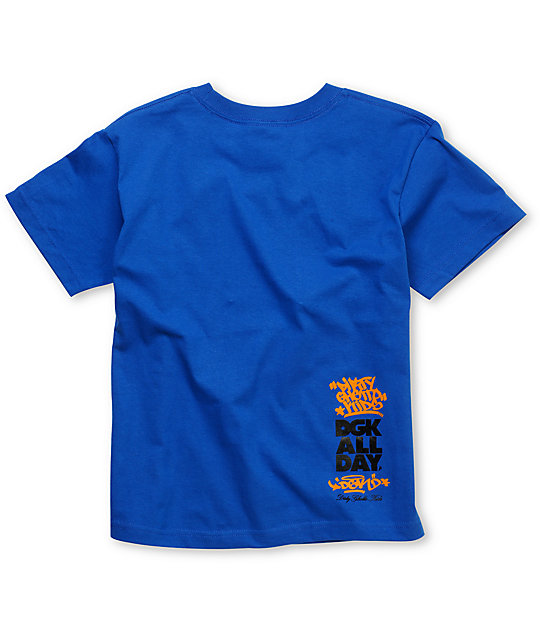 DGK Struggle Boys Blue T-Shirt