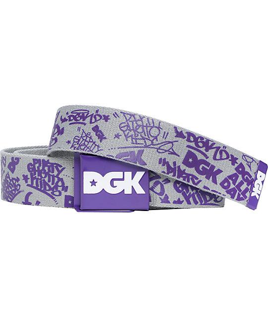 DGK Stunna Scout Grey Belt