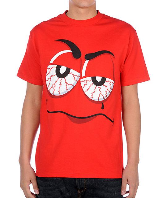 DGK Sugar High Red T-Shirt