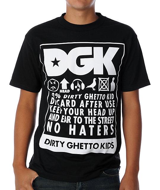 DGK Take Care Black T-Shirt