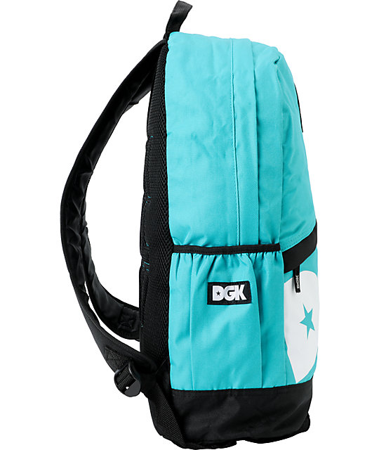 DGK Teal Angle Laptop Backpack