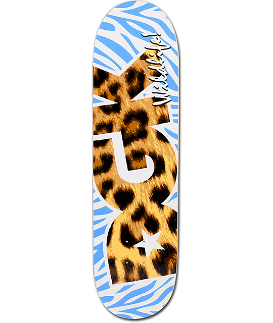 "DGK Wildlife Leopard 8.25""  Skateboard Deck"