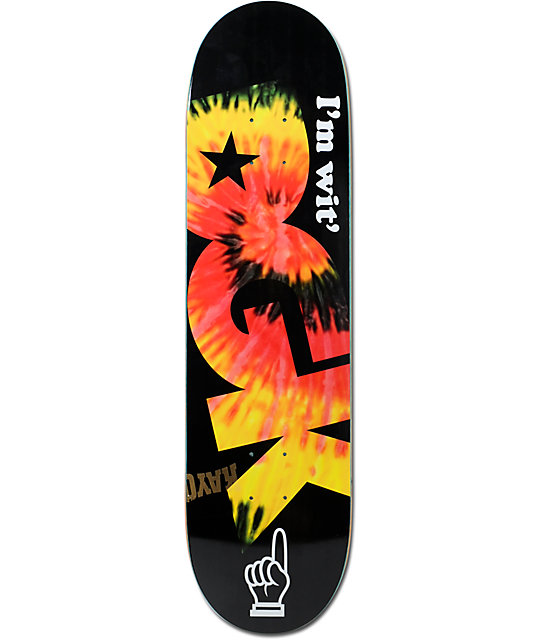 Thunder Skateboard Decks Dgk Wit 8.25 Skateboard Deck