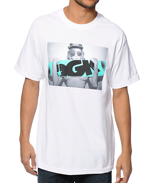 DGK x Madzilla First Love White T-Shirt