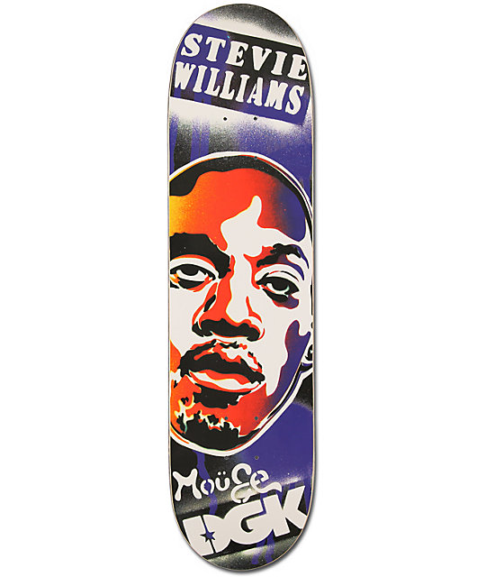 "DGK x Mouse Stevie 7.9""  Skateboard Deck"