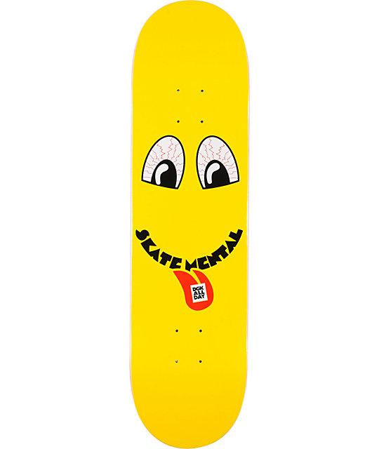 """DGK x Skate Mental DGKs Gone Mental 8.1""""  Skateboard Deck"""