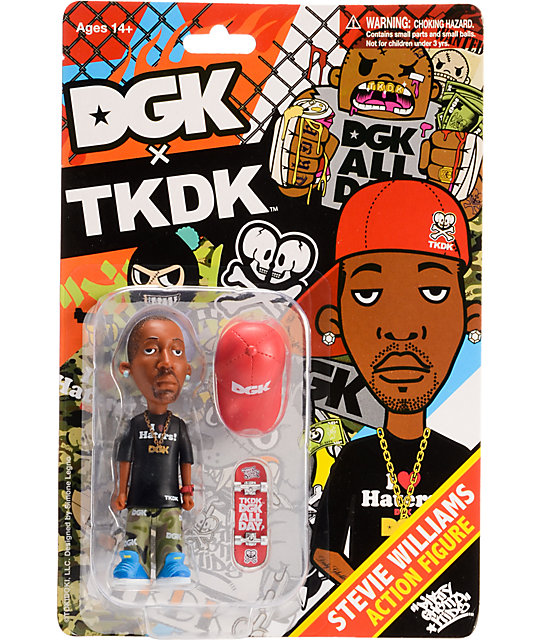 DGK x TKDK Stevie Williams Action Figure