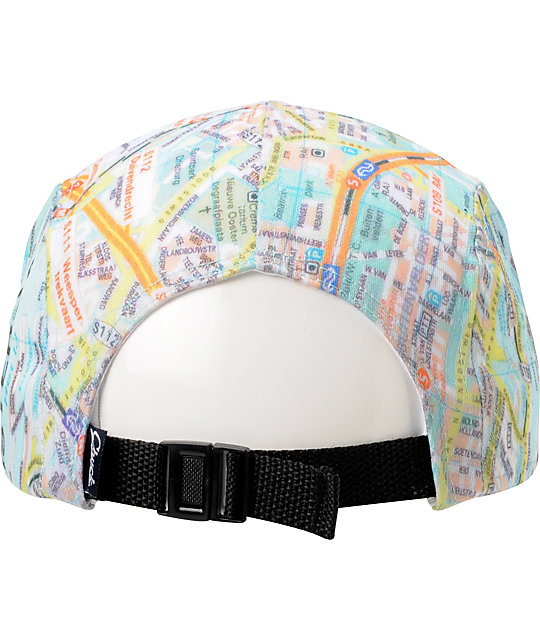 DNA Amsterdam Printed 5 Panel Hat