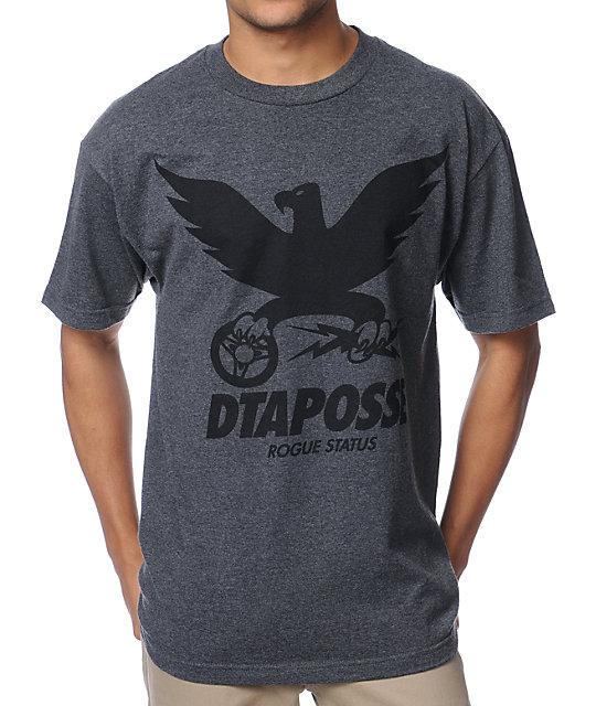 DTA Member Charcoal T-Shirt