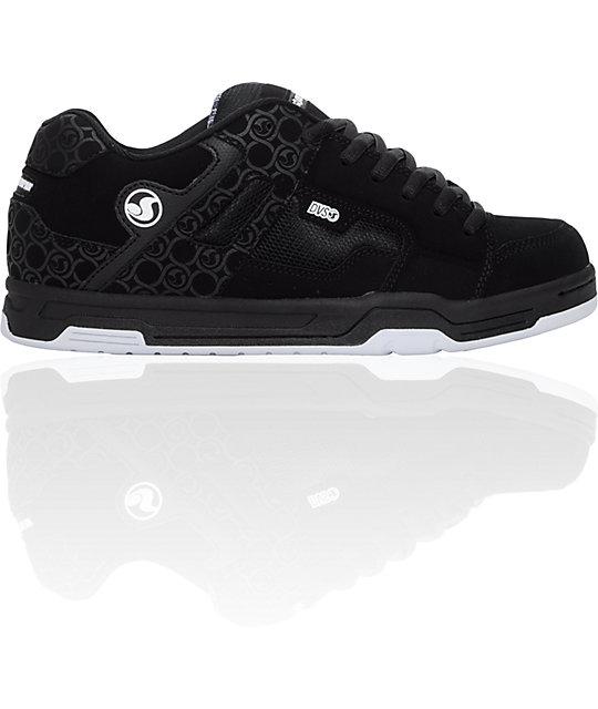 DVS Enduro Black & Grey Nubuck Shoes