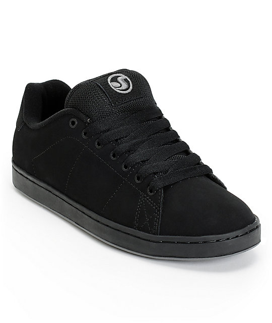 DVS Gavin 2 BTS Black Suede Skate Shoes