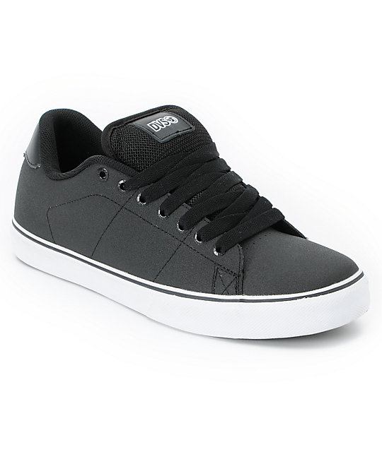 DVS Gavin CT Black High Abrasion Skate Shoes