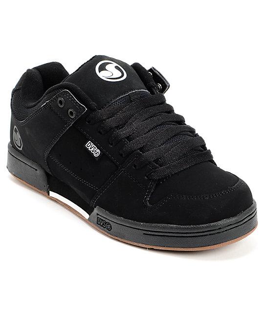 DVS MHJ Black & Gum Skate Shoes