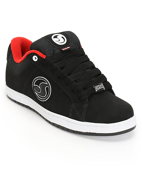 DVS Mastiff Black Nubuck Skate Shoes
