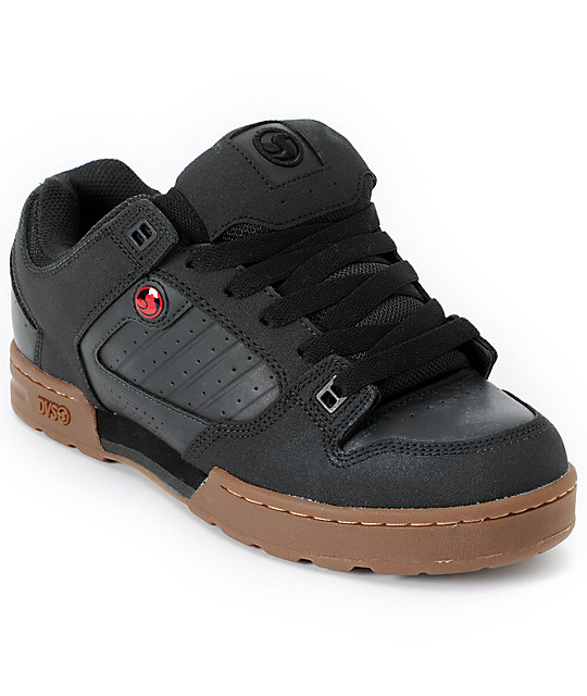 DVS Militia Black High Abrasion Skate Shoes