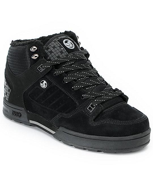 DVS Militia Black Nubuck Boot