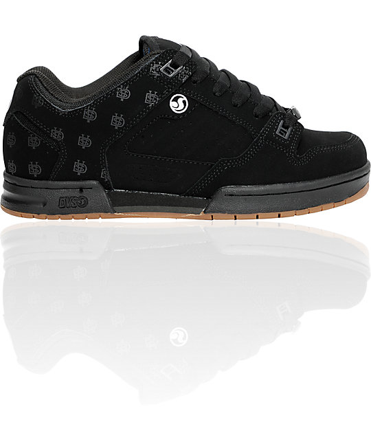 DVS Militia Black Nubuck Print Shoes