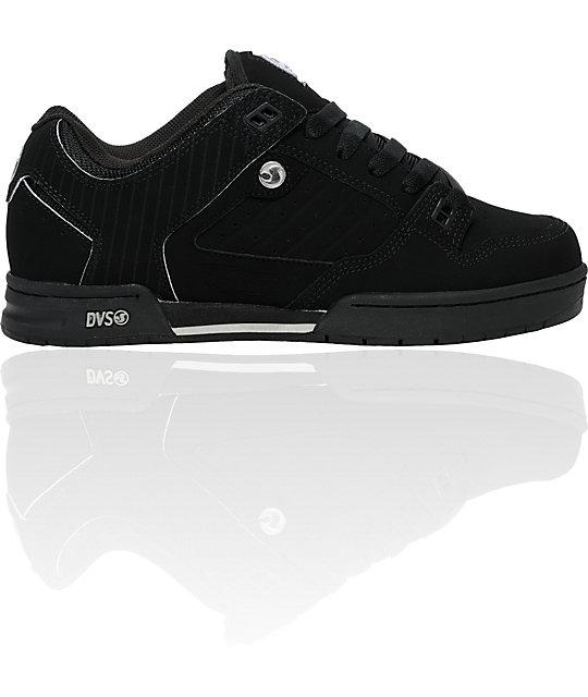 DVS Militia Black Pinstripe Shoes