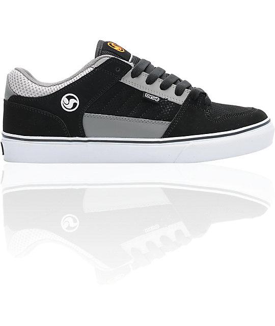 DVS Munition CT Black & Grey Skate Shoes