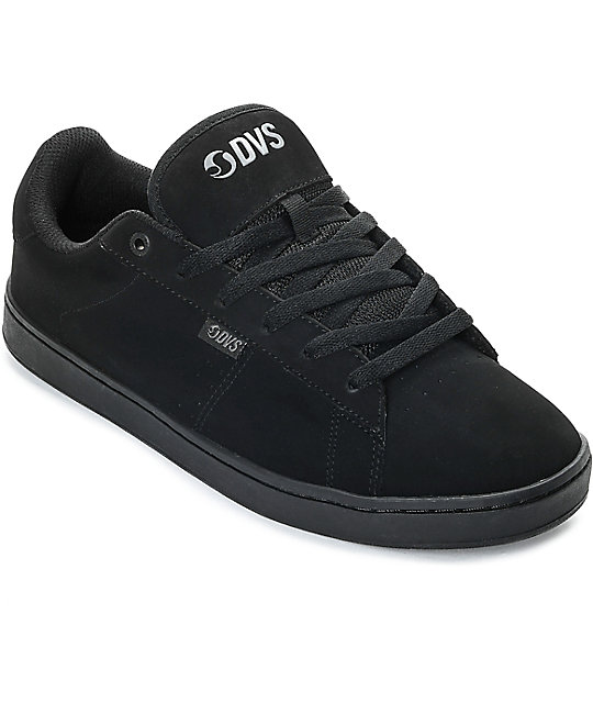 DVS Revival 2 Black Nubuck Skate Shoes