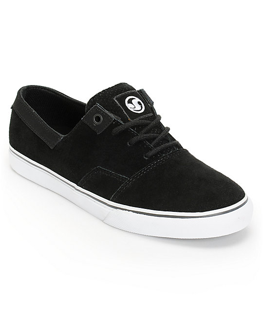 DVS Torey 2 Black Suede Skate Shoes