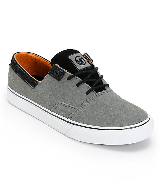 DVS Torey 2 Grey Suede Skate Shoes