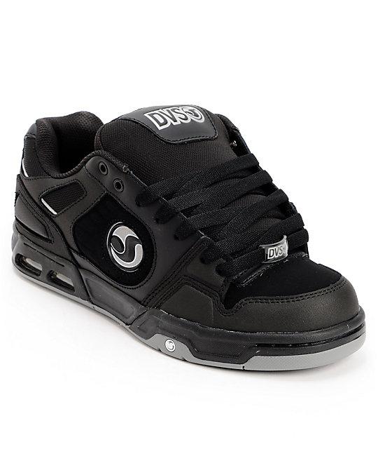 DVS Tracker Heir Black & Black Skate Shoes