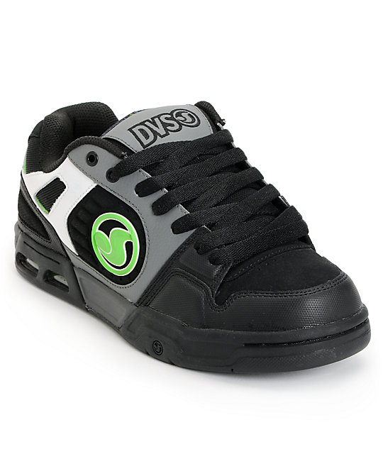 DVS Tracker Heir Black & Grey Skate Shoes