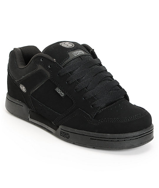 DVS Transom Blacked Out Skate Shoes