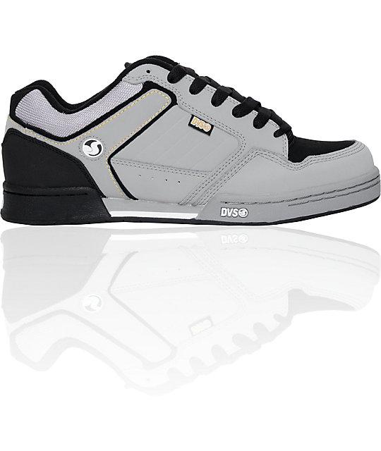 DVS Transom Grey & Black Skate Shoe
