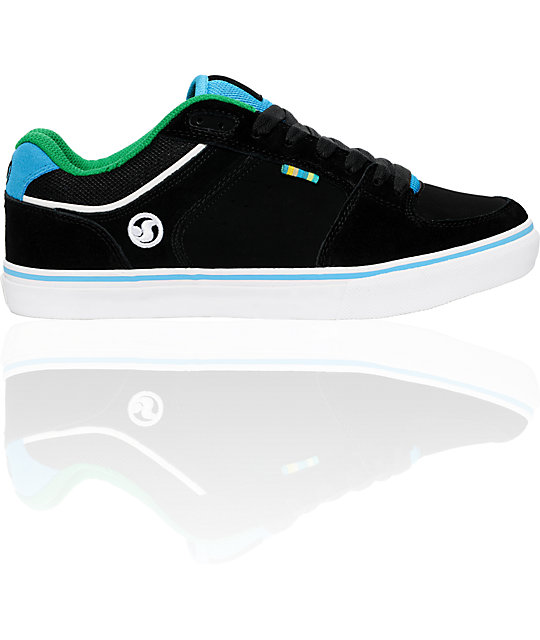 DVS x Almost Love Child Daewon Black Suede Shoes