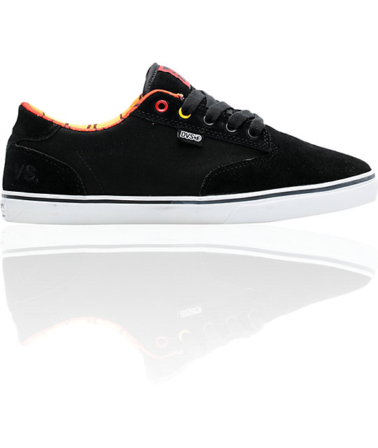 DVS x Almost Skateboards Daewon 12Er Black Skate Shoes