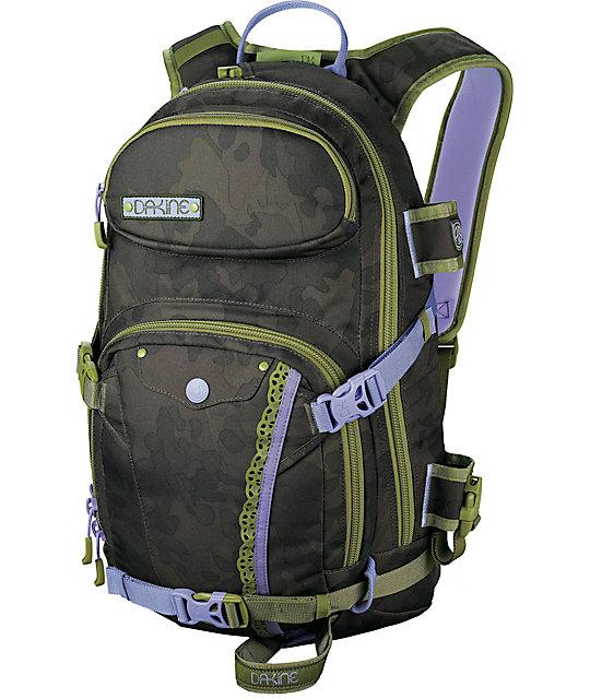 Dakine Annie Boulanger Heli Pro Camo Laptop Backpack