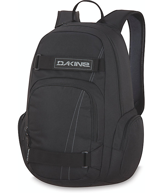 Dakine Atlas Black Skate Backpack