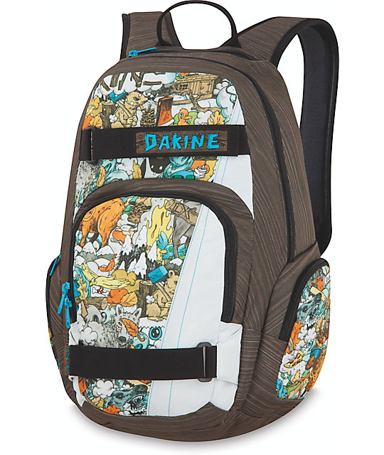 Dakine Atlas Stumptown Skate Backpack at Zumiez : PDP