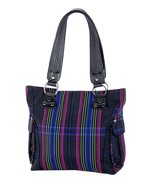 Dakine Ava Twilight Plaid Tote Bag