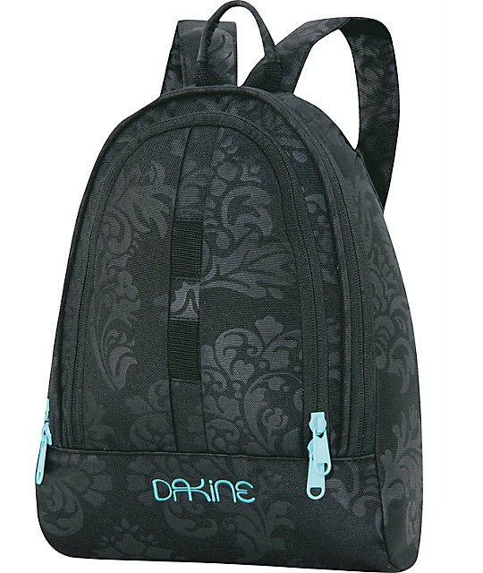 Dakine Black Flourish Cosmo Backpack