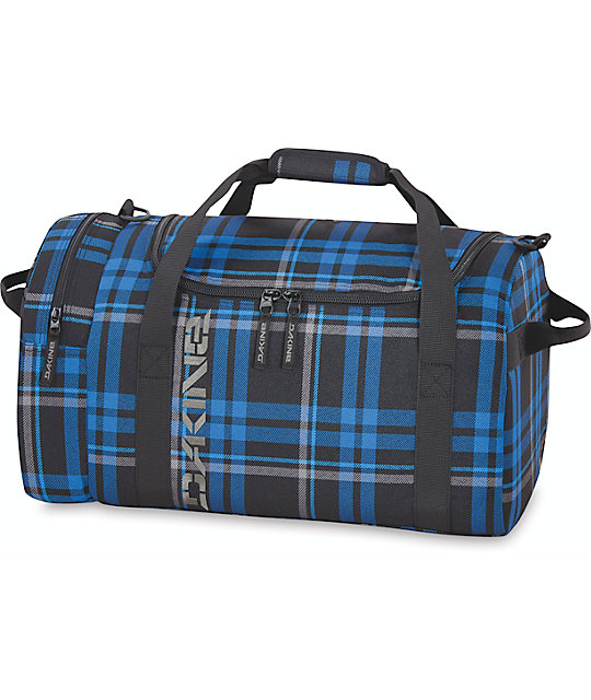 Dakine Bridgeport Plaid EQ Medium 51L Duffel Bag