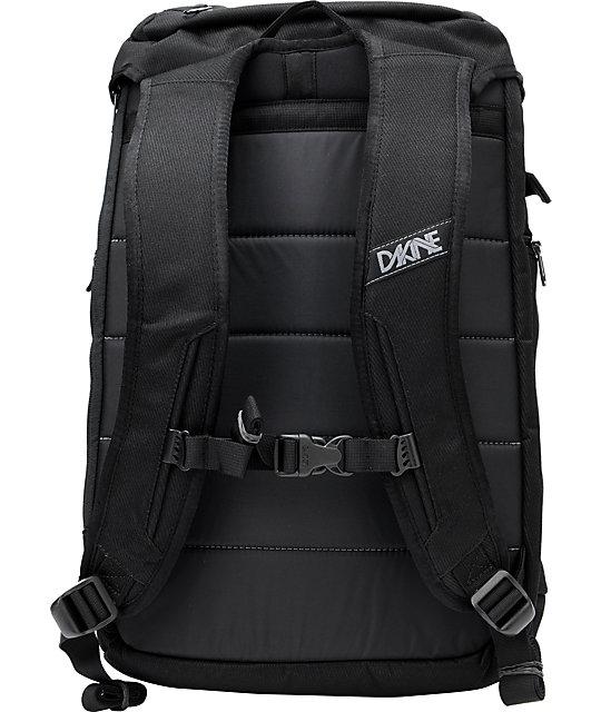 Dakine Burnside Black Skate Backpack | Zumiez