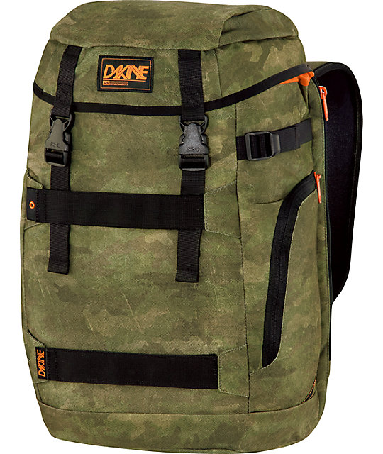 Dakine Burnside Timber Camo Backpack at Zumiez : PDP