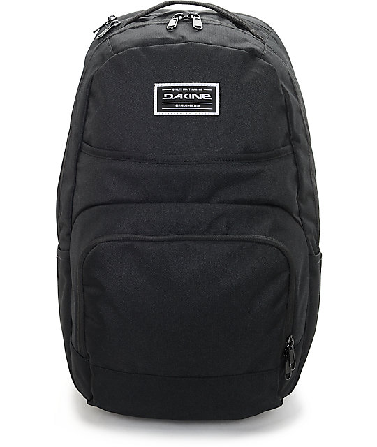Dakine Campus DLX 33L Black Backpack at Zumiez : PDP