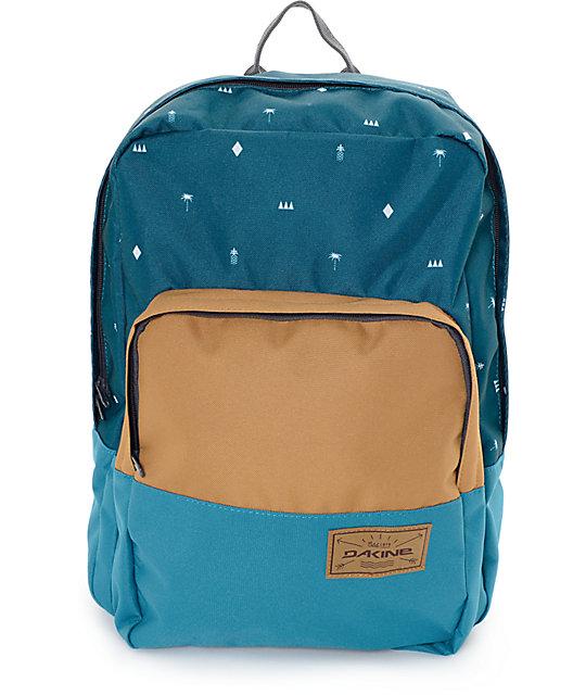 Dakine Capitol Palmapple Heather Green 23L Backpack