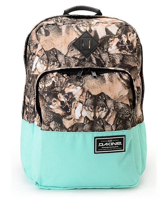 Dakine Capitol Wolf Pack Print Laptop Backpack At Zumiez Pdp