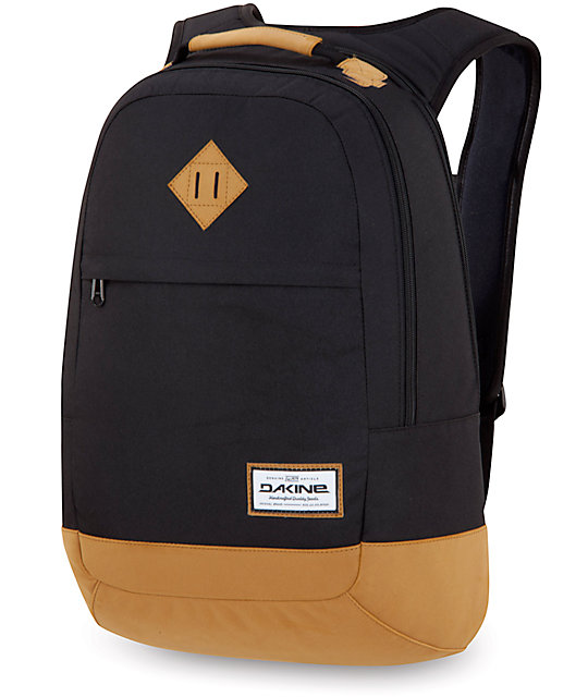 Dakine Contour Black Laptop Backpack | Zumiez