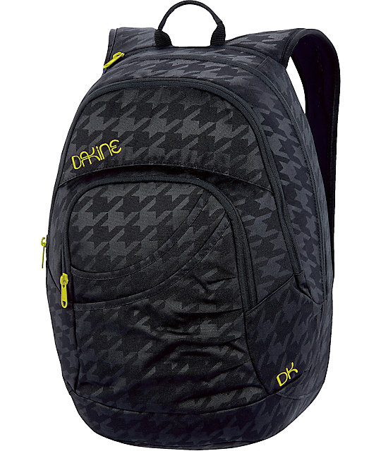 Dakine Crystal Black Laptop Backpack | Zumiez