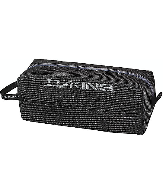 Dakine Denim Black Accessory Case