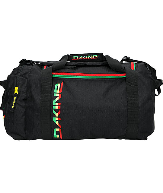 Dakine EQ Medium Black & Rasta Duffel Bag