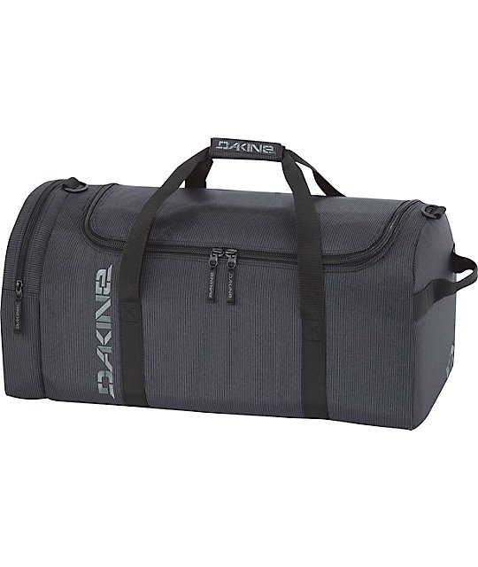 Dakine EQ Medium Black Stripes Duffel Bag