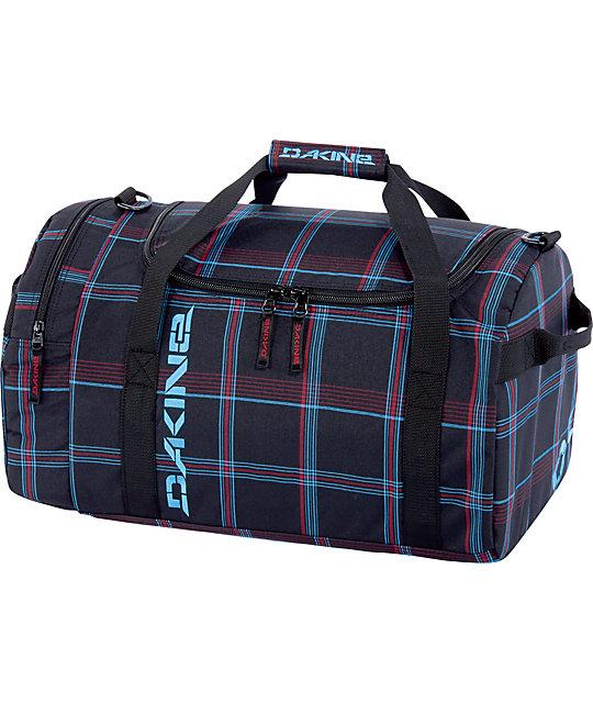 Dakine EQ Medium Forden Plaid Duffel Bag